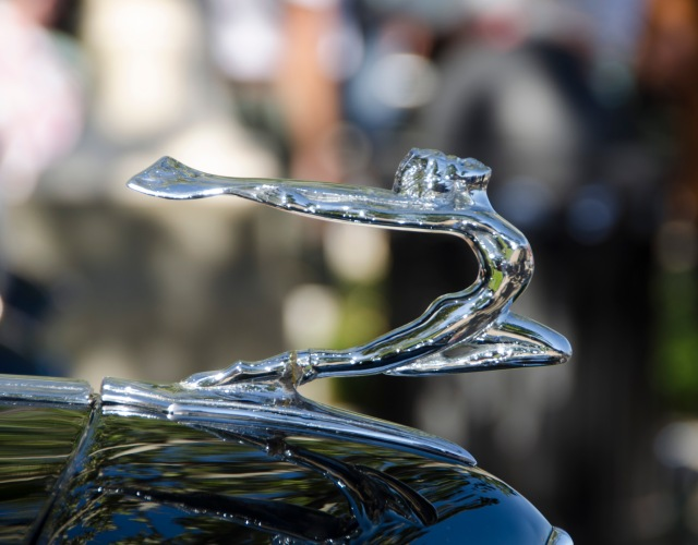 1934 Buick 60 Series Coupe Hood Ornament