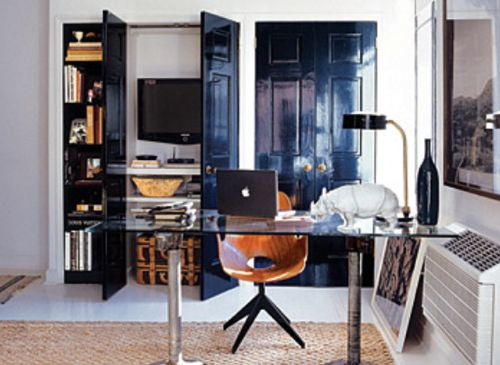 Nate Berkus' New York home office