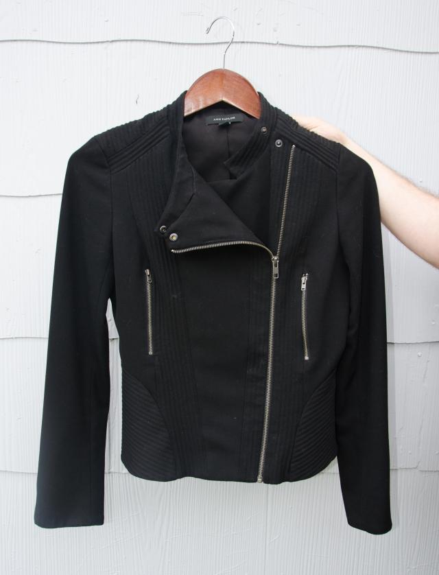 black moto pockets