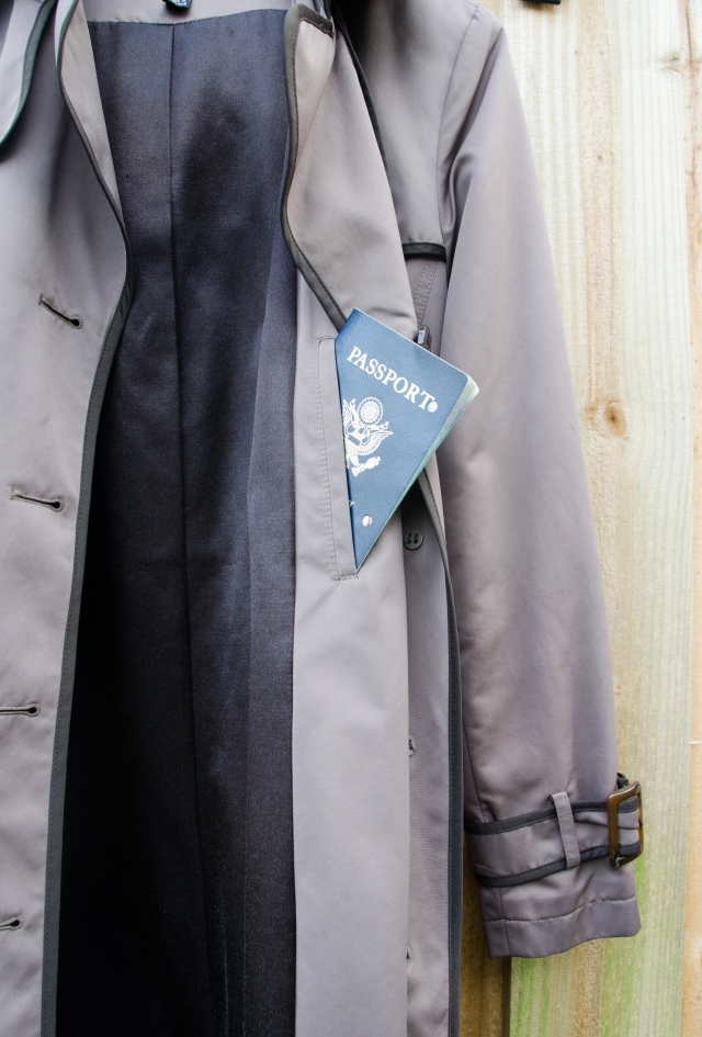 trench with passport
